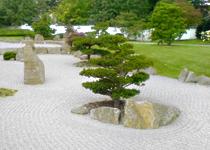 gestaltung mit stein - gartenformen, Garten Ideen